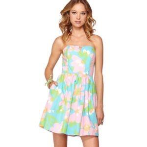 Lilly Pulitzer🌸Shorely Blue Mojo Richelle Dress 8